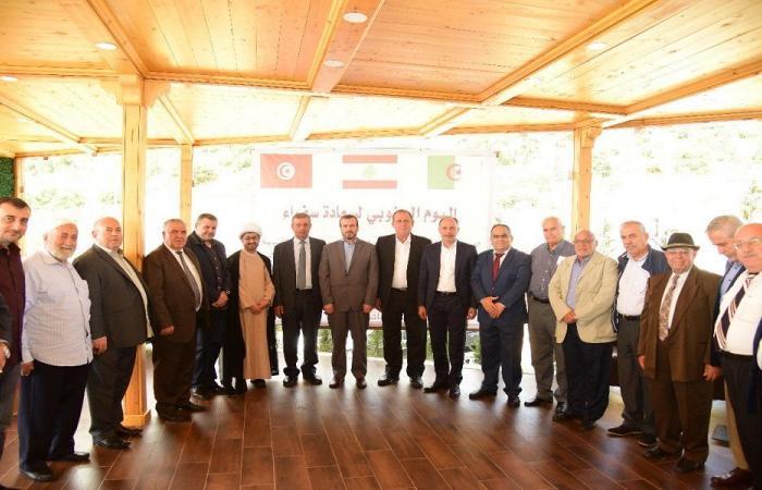 سفيرا تونس والجزائر زارا قلعة الشقيف في ارنون