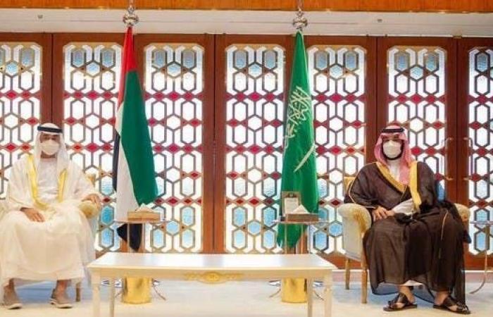 محمد بن زايد: الشراكة مع السعودية قوية ومستمرة