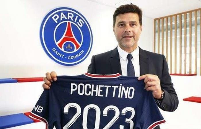 بوكيتينو يمدد عقده مع باريس سان جيرمان حتى 2023