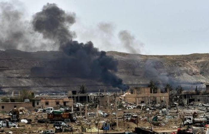 إنزال جوي للتحالف في دير الزور واعتقال قياديين من داعش