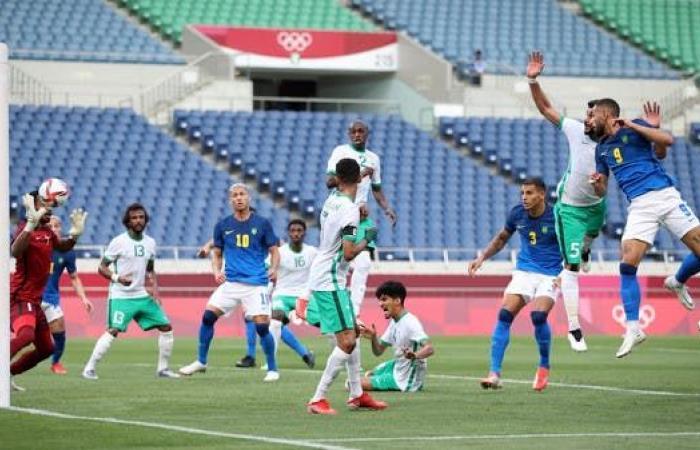 السعودية تخسر أمام البرازيل وتودع بلا نقاط