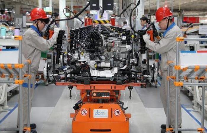 تراجع نشاط مصانع الصين لأدنى مستوياته منذ بدء جائحة كورونا