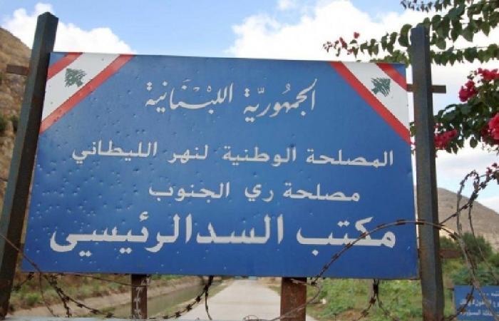 الليطاني: إعادة ضخ المياه في مشروع ري صيدا جزين