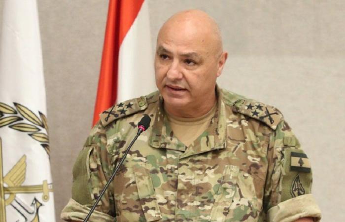 العماد عون للعسكريين: أنتم خلاص لبنان