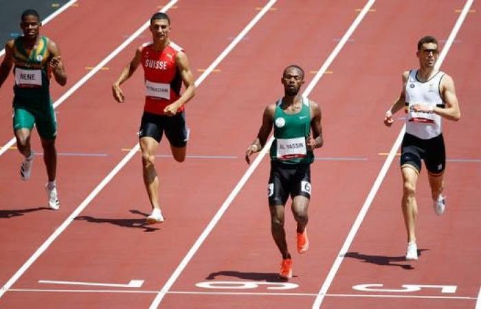 السعودي الياسين يتصدر مجموعته ويصل نصف نهائي 400 متر