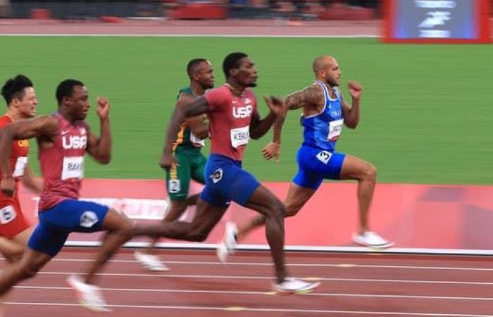 الإيطالي مارسيل يحقق ذهبية 100 متر