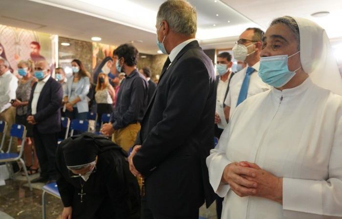 قداس في مستشفى راهبات الوردية في ذكرى انفجار المرفأ