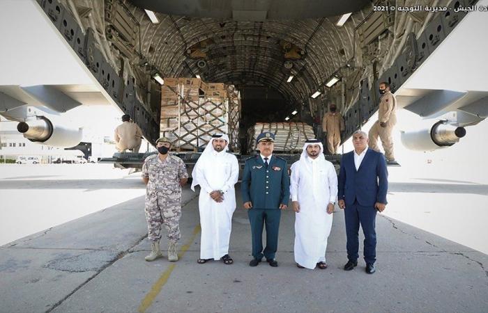 هبة غذائية من قطر إلى الجيش