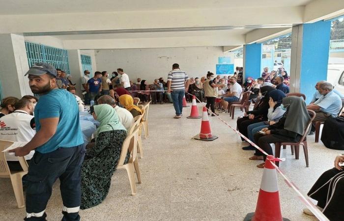 انطلاق حملة التلقيح في مخيم البداوي