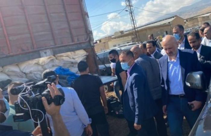 لبنان.. أطنان من نيترات الأمونيوم بأحد أهم معاقل حزب الله