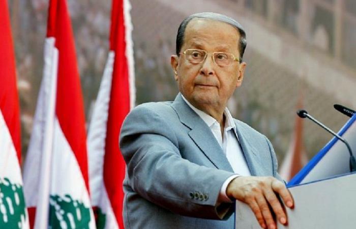 عون يبرق إلى الرئيس الجزائري معزيًا ببوتفليقة