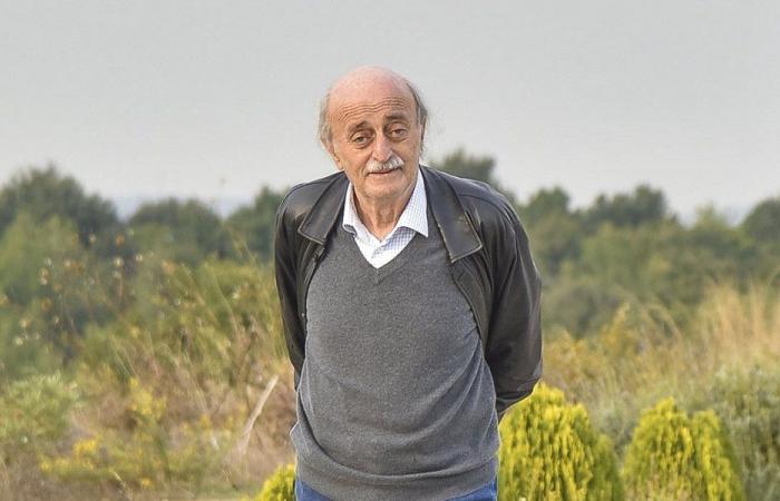 الأوضاع في لبنان والمنطقة بين جنبلاط والسفير المصري