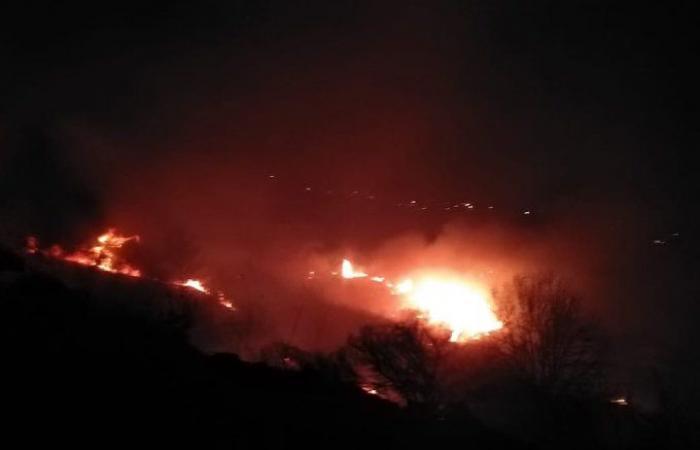 إخماد حريق في خراج مشحا- عكار