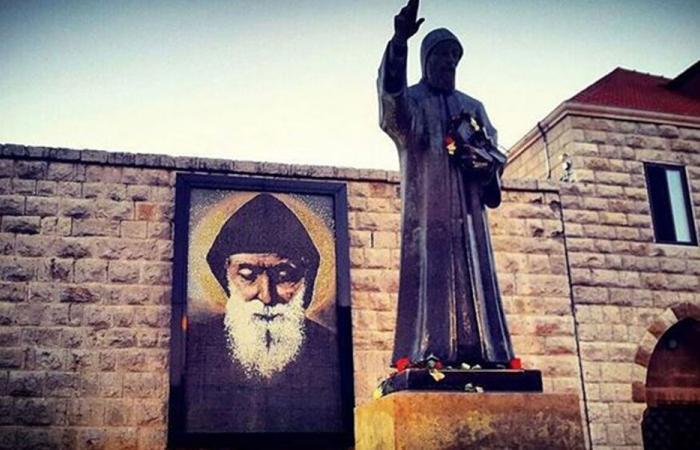 الأب مطر: القديس شربل لن يترك لبنان وشعبه
