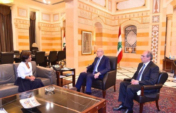 سبل دعم الشعب اللبناني بين ميقاتي ورشدي