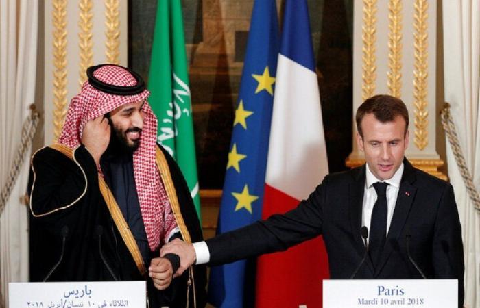 ماكرون يبحث مع بن سلمان الوضع في لبنان قريبًا