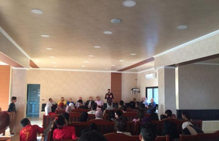 لقاء في بلدية كفرتون لدعم ترشيح الشاب عبد العزيز الزين