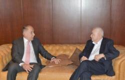 دبوسي بحث مع ابو غزالة اسس مركز اقتصاد المعرفة لغرفة طرابلس