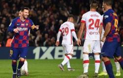 ميسي يقود برشلونة لاستعادة الصدارة بخماسية في شباك ريال مايوركا