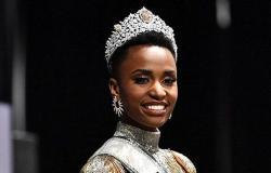 ملكة جمال الكون جنوب إفريقية بتاج لبناني (صور وفيديو)