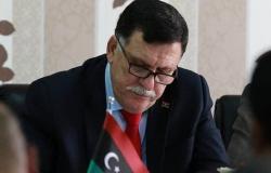 بعثة ليبيا في مصر تنشق عن السراج.. بسبب اتفاقية تركيا
