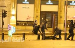 سحل متظاهر في وسط بيروت  (فيديو وصور)