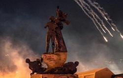 شرطة مجلس النواب تنفي احراق عنصر منها خيم المعتصمين