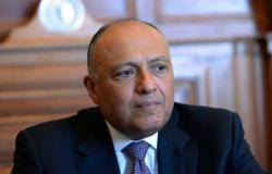 مصر | وزير خارجية مصر: لنا حدود برية وبحرية مع ليبيا