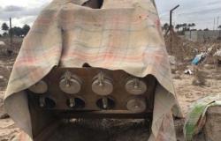 العراق | شاهد منصة الصواريخ التي طالت محيط سفارة أميركا ببغداد