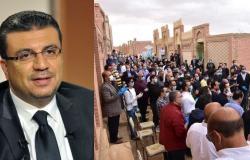 """جنازة حماة الإعلامي عمرو الليثي تثير الجدل بسبب """"كورونا""""!"""