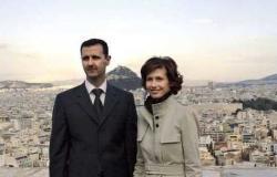 سوريا   صورة غامضة للأسد وزوجته بعد تهديد رامي مخلوف