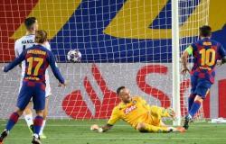 ثلاثية تقود برشلونة إلى ربع نهائي دوري أبطال أوروبا