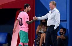 كومان يستبعد ميسي من مباراة دينامو كييف