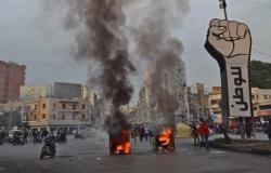 الأزمات تخنق لبنان.. مواجهات عنيفة بطرابلس واصابة 220